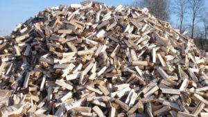 Березовые колотые дрова